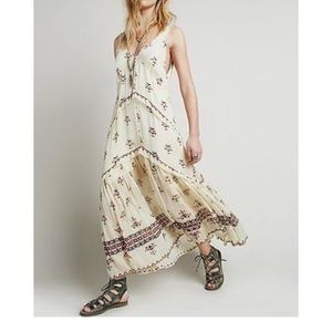 Free people Aztec maxi dress
